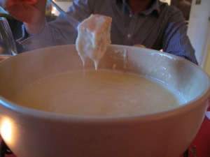 cheese fondue secret supper club