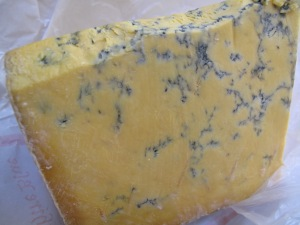 The Big Cheesy Barbeque: Shropshire Blue Burgers cheese