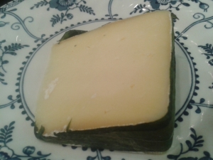 Wild Garlic Yarg cheese cornish