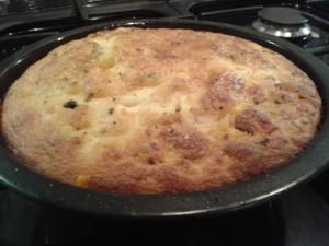 smoked mozzarella and chipotle cornbread