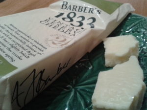 barber's 1833 vintage reserve cheddar cheese