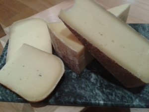 Sussex Farmhouse Cheese, Westcombe Cheddar, Bermondsey Hardpressed