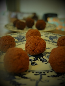 cheese and chocolate truffles