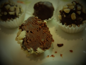 cheese chocolate truffles