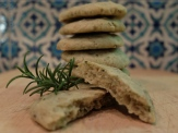 stilton walnut rosemary shortbread