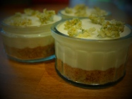 elderflower cheesecake sambocade