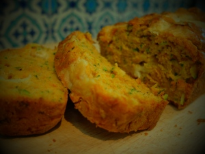 Courgette and Chunky Cheddar Loaf