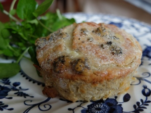Twice Baked Hebridean Blue Cheese Souffle