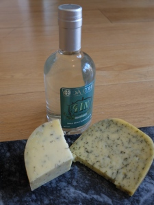 Gin and cheese...well, it is Friday...