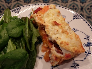 Butternut Squash and Highcross Lasagne